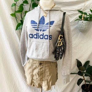 ADIDAS hoodie in grey | size 6-8